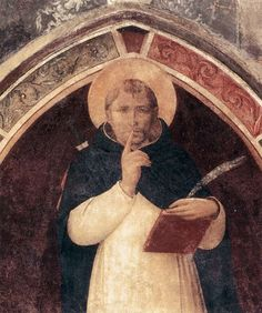 """Fra Angelico: """"St. Peter Martyr"""",1442. ( Convento di San Marco, Florence,Italy.) http://www.polomuseale.firenze.it/musei/?m=sanmarco"""