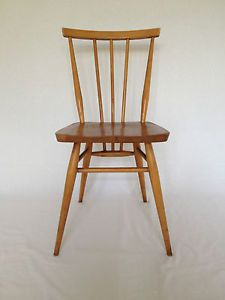 1960's Ercol Stick Back Vintage Retro Dining Chair