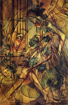 Francis Picabia - Dadaïsme - Salome. Dadaism Art where after WWII, came a time of depression and anarchy. All the despair are expressed within an art form.