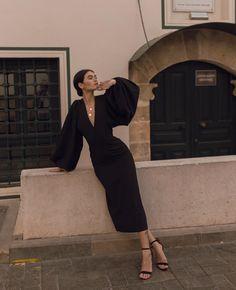 Montego robe avec structuré Mustermix Femmes Noir