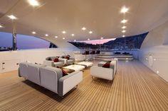 Sun deck M/Y Prima 2011