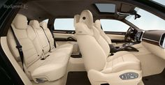 Porsche Cayenne interior...