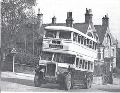 Public Transport This bus is at the junction of Gladstone Road and Ranmoor Road on its way to Sandygate. Gladstone, Sheffield, Public Transport, Coaches, Buses, Old Photos, Yorkshire, Transportation, Trucks