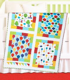 Banner Day by Sarah Price (from Quilt Trends Magazine Spring 2014 issue)