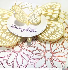 Merry Mail, Buzz Bee, Stamp Sets, Long Distance, Hand Knitting, Daisy, Stamps, Wings, Bloom