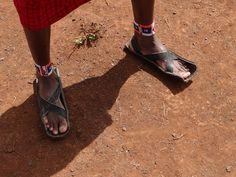 schoenen van autoband | Flickr - Photo Sharing!