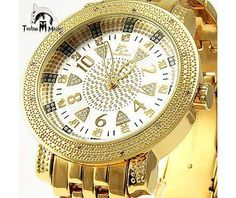 Techno Master Watches Mens Diamond Watch 0.12ct. « Clothing Adds for your desire