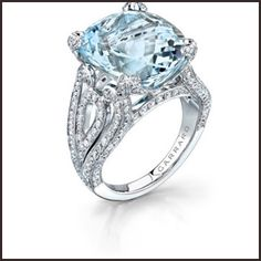 Top Ranked Aquamarine Cocktail Rings | Top Jewelry Brands, Designs & Online Jewellery Stores
