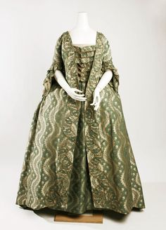 Dress Date: 1750–75 Culture: French Medium: silk