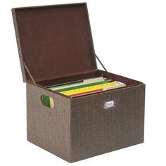 LetterLegal Stockholm File Box Shopping List Pinterest