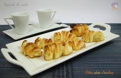 Spirali di mele, ricetta dolci