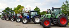 Verkaufsausstellung Traktoren