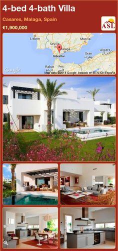 4-bed 4-bath Villa in Casares, Malaga, Spain ►€1,900,000 #PropertyForSaleInSpain