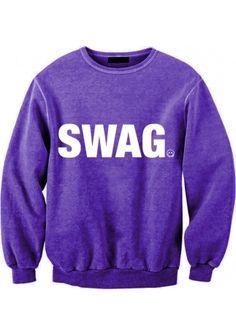 SWAG purple sweatshirt / http://localheroesstore.com/