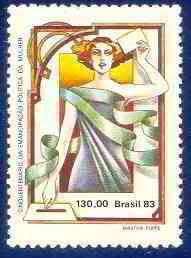 Mulheres nos selos/Mujeres en los sellos - cinquentenário da emancipação política da mulher