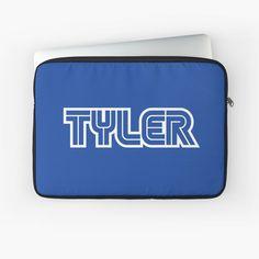 'Gamer name Tyler' Laptop Sleeve by el-patron Gamer Names, Macbook Air Pro, Sleeve Designs, Back To Black, Laptop Sleeves
