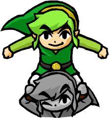 Green #Link Totem fom the official artwork set for the Tri Force Heroes #TFH #TLoZ #Zelda http://www.zelda-temple.net/
