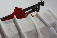 Group Pleat Tape to Create Your own Curtain by HomeTextileStudio
