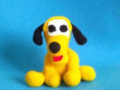 Pies Pluto na szydełku