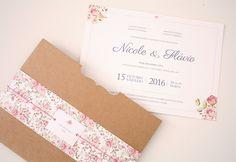 Convite de Casamento Wedding Day, Invitations, Ideas, Diy, Party Invitations, Autumn Leaves, Groomsmen, Designer Fonts, Wedding Invitations