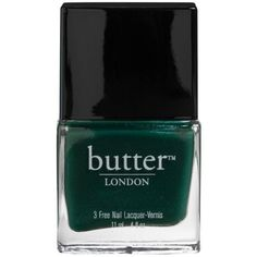 Butter London  Nail Lacquer ($15) ❤ liked on Polyvore featuring beauty products, nail care, nail polish, butter london nail polish, butter london nail lacquer and butter london
