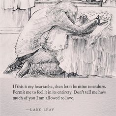 Drawing by @cyn.thi.uh  #poetry #art #quotes #langleav #YA