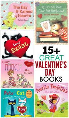 Over 15 GREAT Valentine's Day books to read with your kids! Snuggle up for some quality reading time with the little ones- repinned by @PediaStaff – Please Visit  ht.ly/63sNt for all our pediatric therapy pins.