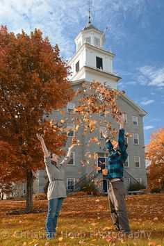 Students at Middlebury College, Middlebury,Vermont│Heeb Photography