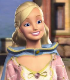 Princess Anneliese from Barbie as The Princess and the Pauper