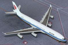 1/200 GeminiJets Air China Airbus A340-300