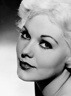 Ms.Kim Novak  I used to be told that, I resembled Kim Novak...I do see it in certain pictures of my 20's.