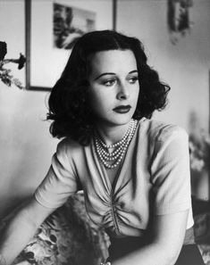 """""""Confidence is something you're born with. I know I had loads of it even at the age of 15."""" - Hedy Lamarr (November 9, 1914 – January 19, 2000)"""