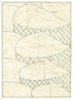 Paul van der Eerden Inventory 002 2014 ink on paper