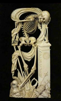Memento Mori sculpture.                                                       …                                                                                                                                                                                 More