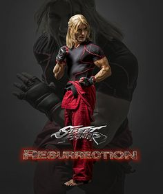 Street Fighter: Resurrection prime foto di Charlie Nash, Ken Masters e Ryu - Sw Tweens