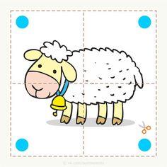 Adorables rompecabezas para bebés de inicial y preescolar