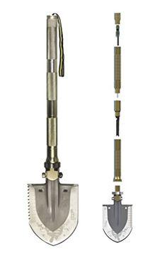 Multi-function Folding Shovel Axe Hoe Hammer Knife Fire Flint Whistle Camping Hunting Self Driving Tourniquet Solo Snowberg Survival Tool Doingoutdoor http://www.amazon.com/dp/B00QKIVDIE/ref=cm_sw_r_pi_dp_ejaxvb12VWT0J