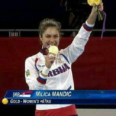Milica Mandić- Serbian tekwondo player