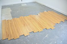 How To Install Laminate Flooring Over Concrete Laminate Flooring Basement, Plywood Plank Flooring, Installing Laminate Flooring, Best Flooring, Creative Studio, Concrete, Projects, Crafts, Log Projects