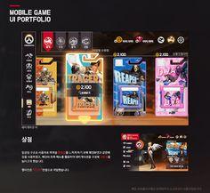 ArtStation - Overwatch mobile UI design, Hyeha H Gui Interface, Interface Design, Game Ui Design, Web Design, Ui Portfolio, Weather Models, Game Gui, Mobile Ui Design, Ui Inspiration