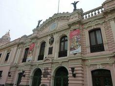 Edificio de Correos, actualmente funciona La Casa de la Gastronomía, Centro de Lima