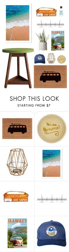"""""""surf."""" by tothineownselfbtrue ❤ liked on Polyvore featuring interior, interiors, interior design, home, home decor, interior decorating, Kartell, Blue & Cream, Bumble and bumble and entry"""