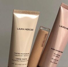 Laura Mercier, Best Makeup Products, Pure Products, Beauty Products, Classy Aesthetic, Tinted Moisturizer, Beauty Essentials, Red Lipsticks, Natural Skin