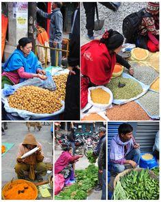 Kathmandus Straßenmärkte blühen wieder auf