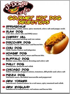gourmet hot dog party - Google Search