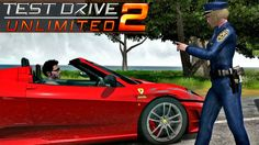 Test Drive 2 - Policial Mulher