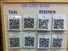Instructiefilmpjes via QR codes. Cool! :D