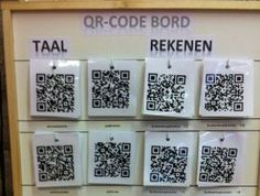 Instructiefilmpjes via QR codes