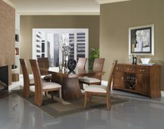The Milan dining room furniture collection by Somerton Dwelling.