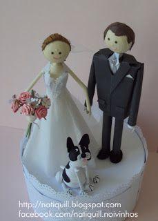 custom bride and groom